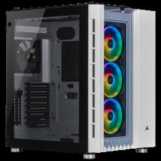 CORSAIR Crystal Series 680X RGB ATX High Airflow Tempered Glass Smart Case — White ( CC-9011169-WW )