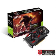 Asus GeForce Cerberus GTX 1050 Ti OC Edition 4GB GDDR5 128-Bit Gaming Graphics Card ( CERBERUS-GTX1050TI-O4G )