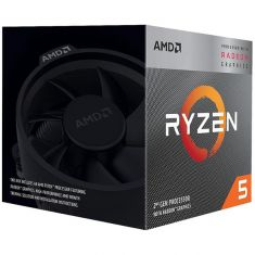 AMD Ryzen 5 3400G 3rd Generation AM4 Socket Desktop Processor YD3400C5FHBOX ( 4 Cores, Up to 4.2GHz, 4MB Cache, Wraith Spire Cooling Solution )