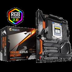 Gigabyte TRX40 AORUS PRO WIFI ATX Motherboard ( AMD sTRX4 Socket, For Ryzen Threadripper 3rd Generation CPU, 8 RAM Slots, Max 256GB RAM Support )