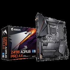Gigabyte Z490 Aorus Pro AX ATX Motherboard with Intel Wi-Fi 6 ( Intel Socket LGA1200, Support for 10th Generation Intel Core Series CPU, 4 RAM Slots, Max 128GB RAM Support )