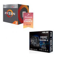 AMD Ryzen 3 2200G & ASUS PRIME B450M-A combo deal
