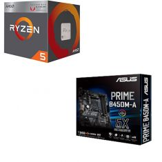 AMD Ryzen 5 2400G & ASUS Prime B450M-A combo deal