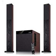 FD T400X Full Wooden 2.1 Tower Speakers