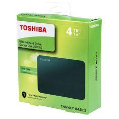 Toshiba Canvio Basics 4TB Portable External Hard Drive USB 3.0