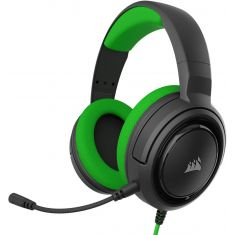 Corsair HS35 Stereo Gaming Headset - Headphones Designed for PC and Mobile – Green