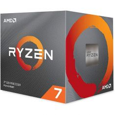 AMD Ryzen 7 3800X 3rd Generation AM4 Socket Desktop Processor 100-100000025BOX ( 8 Cores, Up to 4.5GHz, 32MB Cache, Wraith Prism Cooling Solution )