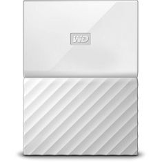 WD 2TB White My Passport Portable External Hard Drive - USB 3.0 - WDBS4B0020BWT-WESN