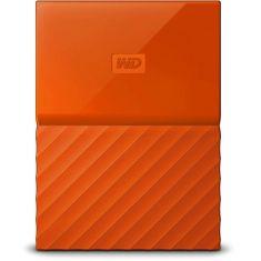WD 2TB Orange My Passport Portable External Hard Drive - USB 3.0 - WDBS4B0020BOR-WESN