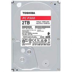 Toshiba P300 2TB 7200 RPM SATA 3.5 Inch Computing Desktop Internal Hard Disk Drive ( HDWD120UZSVA )
