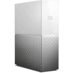 WD My Cloud Home WDBVXC0080HWT-BESN 8TB Network Attached Storage (White) Personal Cloud
