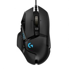 logitech g502 hero gaming mouse top