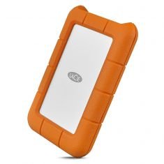 LaCie Rugged Secure 2TB External Hard Drive Portable HDD (STFR2000403)