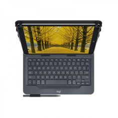 """Logitech Universal Folio Case with Integrated Bluetooth Keyboard for 9""""-10"""" Tablets ( 920-008334 ) main image"""