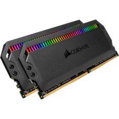 Corsair Dominator Platinum RGB Series 16GB ( 8GB x 2 Kit ) 3000 MHz DDR4 Desktop RAM ( CMT16GX4M2C3000C15 )