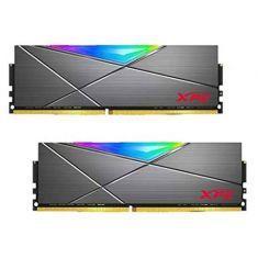 Adata Spectrix D50 RGB Desktop Memory Module 32GB ( 16GB x 2  Kit ) 3200 MHz Tungsten Grey ( AX4U3200716G16A-DT50 )