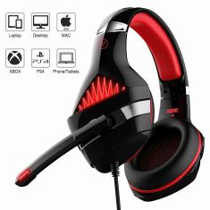 Ant Esports H500 Gaming Headset (Black-Red)