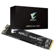 Gigabyte Aorus Gen4 SSD 1TB M.2 NVMe GP-AG41TB ( M.2 2280, PCI-Express 4.0 x4, NVMe 1.3, With Sequential Read Speed Up to 5000 MB/s )