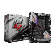 Asrock B550 PG Velocita ATX Motherboard ( AMD AM4 Socket, Supports Ryzen Series CPU, 4 RAM Slots, Max 128GB RAM )