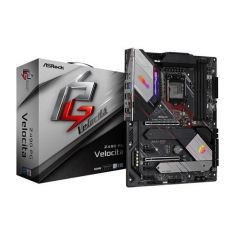 Asrock Z490 PG Velocita ATX Motherboard ( Intel Socket LGA1200, Support for 10th Generation Intel Core Series CPU, 4 RAM Slots, Max 128GB RAM Support )