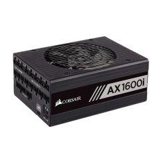 CORSAIR AX1600i SMPS - 1600 Watt 80 Plus Titanium Certification Fully Modular PSU With Active PFC