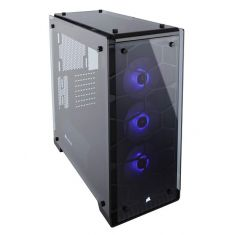 CORSAIR 570X RGB WITH TEMPERED GLASS SIDE PANEL MID TOWER CABINET (ATX) CC-9011098-WW