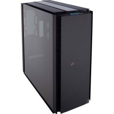 CORSAIR 1000D (E-ATX) Ultra Tower Cabinet - With Tempered Glass Side Panel, RGB Lighting And Fan Controller-Black ( CC-9011148-WW )