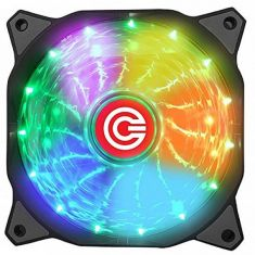 CIRCLE CG 16X7C 120MM CABINET FAN WITH 7 COLOUR LED