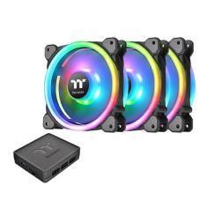 Thermaltake RIING TRIO 12 RGB 3 Fans Pack With Controller CL-F072-PL12SW-A