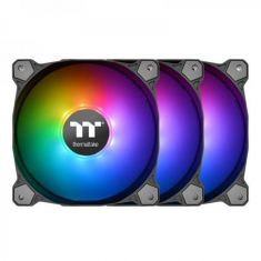 THERMALTAKE PURE 12 ARGB SYNC 120MM RADIATOR FAN WITH RGB CONTROLLER (TRIPLE PACK) CL-F079-PL12SW-A