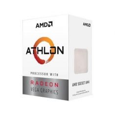 AMD Athlon 3000G Desktop Processor with Radeon Vega 3 Graphics YD3000C6FHBOX ( AM4 Socket, 2 Cores, 4 Threads, 3.5 GHz, 5MB Cache ) main image