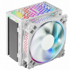 JONSBO CR-201 WHITE RGB 120MM CPU AIR COOLER