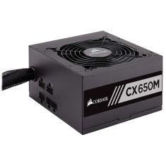 CORSAIR CX SERIES CX650M — 650 WATT 80 PLUS BRONZE CERTIFIED MODULAR ATX PSU