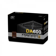 DEEPCOOL DA600 80 Plus Bronze certified 600W Power Supply