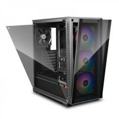 DEEPCOOL MATREXX 70 ADD-RGB 3F (E-ATX) MID TOWER CABINET AND TEMPERED GLASS SIDE PANEL