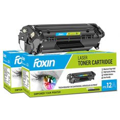 Foxin FTC-12A Toner Cartridge for Compatible HP Lazerjet Printers main image