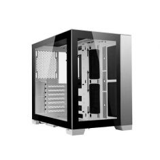 LIAN LI O11-DYNAMIC-MINI (ATX) MID TOWER CABINET WITH TEMPERED GLASS SIDE PANEL (WHITE)