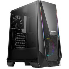 ANTEC NX310 ARGB (ATX) MID TOWER CABINET WITH TEMPERED GLASS SIDE PANEL (BLACK)