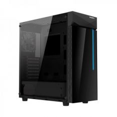 Gigabyte C200G Glass ATX Mid Tower Cabinet With Tempered Glass Side Panel (Black)