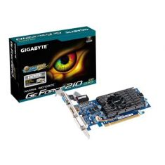 Gigabyte GeForce 210 1GB DDR3 64 Bit Gaming Graphics Card ( GV-N210D3-1GL ) main image