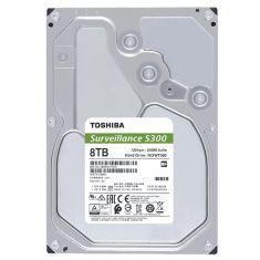 Toshiba S300 8TB 7200 RPM Surveillance Desktop Internal Hard Disk Drive ( HDWT380UZSVA )