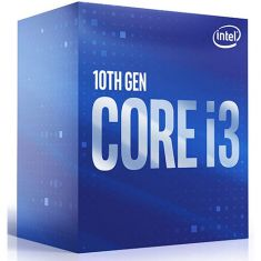 Intel Core i3 10100 10th Generation Desktop Processor BX8070110100 ( 4 Cores, 8 Threads, Up To 4.3 GHz, Socket LGA 1200, Intel UHD Graphics 630 ) main image