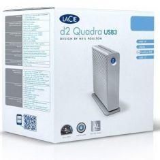 LaCie d2 Quadra USB 3.0 4TB External Hard drive LAC9000258U