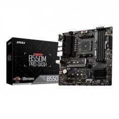 MSI B550M PRO-DASH M-ATX Motherboard ( AMD AM4 Socket, Supports Ryzen 3rd Gen CPU, 4 RAM Slots, Max 128GB RAM Support )