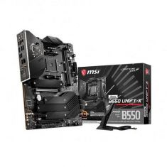 MSI MEG B550 Unify X Wifi ATX Motherboard ( AMD AM4 Socket, Supports Ryzen Series CPU, 2 RAM Slots, Max 64GB RAM )