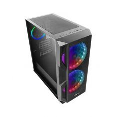 ANTEC NX800 (E-ATX) MID TOWER CABINET WITH TEMPERED GLASS SIDE PANEL (BLACK)