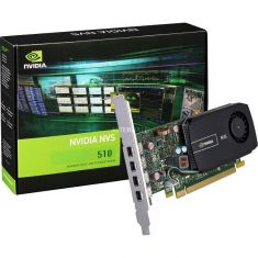 PNY NVIDIA Quadro NVS 510 2GB 128 Bit DDR3 Graphics Card ( VCNVS510DVI-PB )