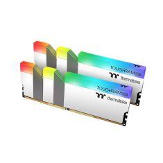 Thermaltake TOUGHRAM RGB 16GB 4600MHz CL19 ( 8GB X 2 Kit ) DDR4 Desktop Ram With RGB Heatsink, White ( R022D408GX2-4600C19A )