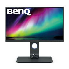 BENQ SW270C - 27 INCH 100% SRGB PHOTO EDITING MONITOR (5MS RESPONCE TIME, 2K QHD IPS PANEL, HDMI, DISPLAYPORT, USB TYPE-C)