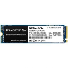 TEAMGROUP MP32 M.2 2280 512GB PCIe 3.0 x2 with NVMe 1.3 Internal Solid State Drive (SSD)